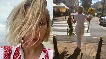 """Kasia Warnke już nie ma blond włosów? W tym wydaniu wygląda jak ktoś zupełnie inny:""""Hot brunetka"""" - piszą fani"""