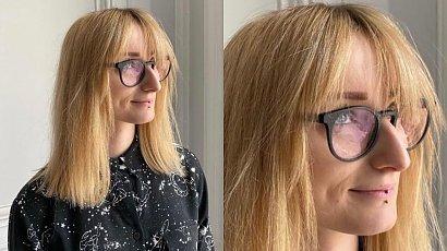 """Wiola odwiedziła fryzjera. Zrobił jej long boba i przefarbował włosy na niebiesko czyli """"mermaids hair"""""""