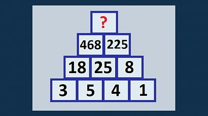 Jaka liczba kryje się pod znakiem zapytania? Tę zagadkę potrafią rozwiązać tylko najbystrzejsi!