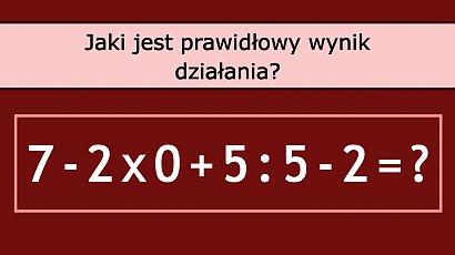 Matematyczna zagadka robi furorę w sieci! Tylko nieliczni potrafią wskazać poprawną odpowiedź! A Ty?