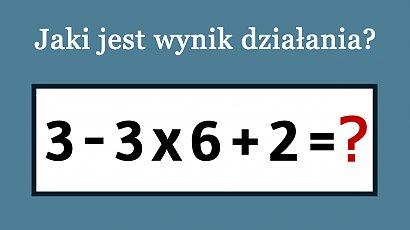 Banalna zagadka matematyczna pokonała internautów. Potrafisz rozwiązać to działanie?