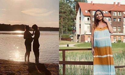 Jak Agnieszka Włodarczyk spędza ostatnie chwile przed porodem? Dobrze się bawi!