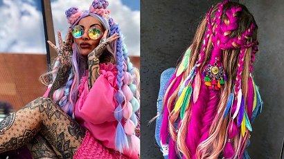 """""""Królowe życia"""" - Anna Renusz - zainspiruj się jej festiwalowymi fryzurami!"""