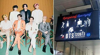 K-pop w warszawskim metrze! Fani BTS przygotowali specjalną akcję!