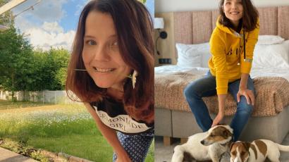 """Joanna Jabłczyńska pokazała zdjęcie z tatą: """"Twoi rodzice są mega podobni do siebie. A Ty do nich"""" - oceniają internauci"""