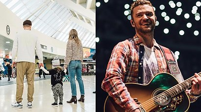 Justin Timberlake pochwalił się synami! Pokazał, jak wyglądają!
