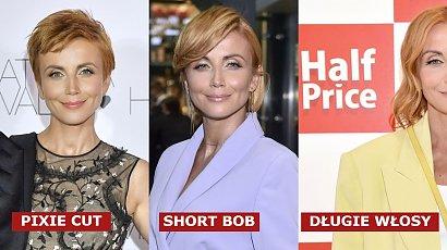 Katarzyna Zielińska miała już pixie cut, short bob, ale teraz zapuściła włosy! Dobrze jej w tej fryzurze? Zdania podzielone
