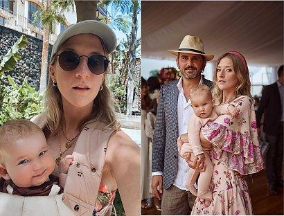 """Lara Gessler karmi córeczkę piersią w restauracji:""""Najpiękniejszy widok na świecie, piękno bije po oczach"""" - oceniają fani"""