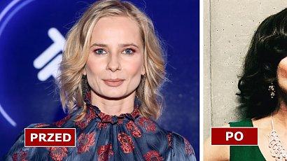 Magdalena Cielecka już nie jest blondynką?! Ciemne włosy i fryzura long bob zmieniły ją nie do poznania!