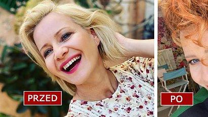 Małgorzata Kożuchowska zaszalała z fryzurą! W rudych, kręconych włosach aż ciężko ją poznać! Co za zmiana!