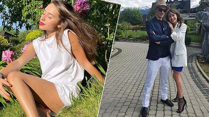 Marcelina Ziętek w skąpym bikini pozuje do zdjęć dumnemu Piotrowi Żyle. Ale figura!