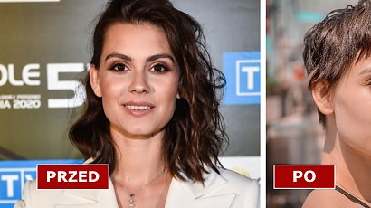 """Pola Gonciarz drastycznie ścięła włosy! Blanka z """"Na dobre i na złe"""" ma teraz fryzurę pixie cut! Pasuje jej?"""