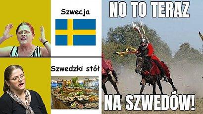 Mecz Polska-Szwecja już w tę środę! Internauci tworzą memy przed meczem! Pawłowicz ich bohaterką