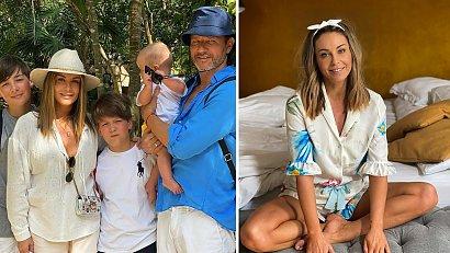 Najstarszy syn Małgorzaty Rozenek-Majdan nie jest z rodziną w Meksyku! Co się stało?