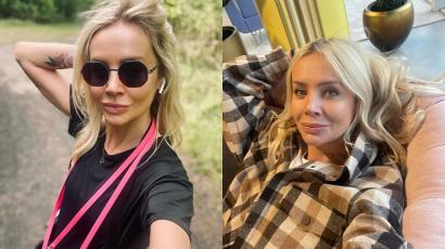 """Odmieniona Agnieszka Woźniak Starak pokazała jak spędza wolny czas: """"Aleś Ty chudziutka"""" - oceniają fani. Pozuje z przystojnym mężczyzną!"""