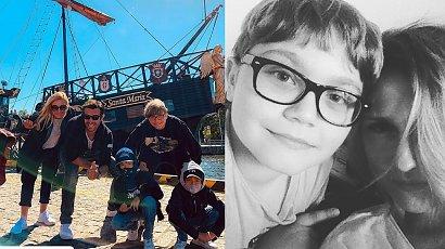 Sylwia Juszczak chwali się synem! Vincent wyrasta na młodego przystojniaka!