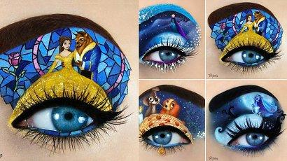 Jej makijaże to miniaturowe dzieła sztuki! Za każdym razem tworzy coś niesamowitego [DUŻO ZDJĘĆ]