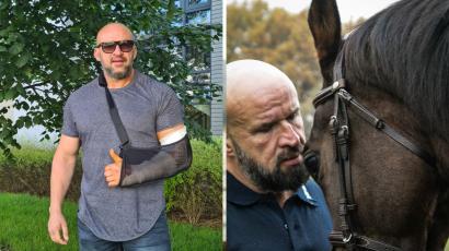 Tomasz Oświeciński miał wypadek! Jak się czuje po operacji?