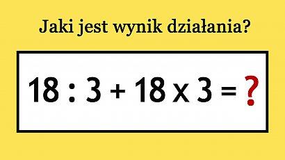 Zagadka dla bystrzaków! Nie każdy potrafi rozwiązać ten matematyczny problem! A Ty?