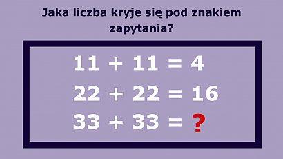 Matematyczna zagadka tylko dla tęgich umysłów! Jesteś w stanie ją rozwiązać?