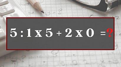 Matematyczna zagadka podbija Internet! Nie każdy potrafi rozwiązać to banalne równanie!