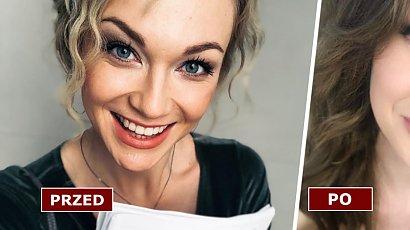 """Aleksandra Adamska zmieniła fryzurę! Gwiazda """"O mnie się nie martw"""" ma teraz długie, brązowe włosy. WOW!"""