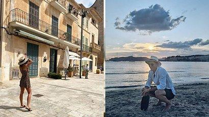 Lewandowscy chwalą się swoimi wakacjami w Hiszpanii. Widoki przepiękne!