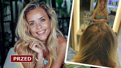 """Anna Skura pochwaliła się nową fryzurą! """"Piękne i lśniące w obłędnym blondzie"""". Jest efekt WOW?"""