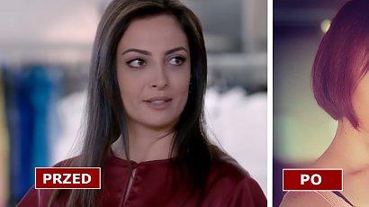 """Hümeyra z serialu """"Elif"""" zmieniła fryzurę! Berna Keskin ma short boba i miedziany brąz. Nie do poznania!"""