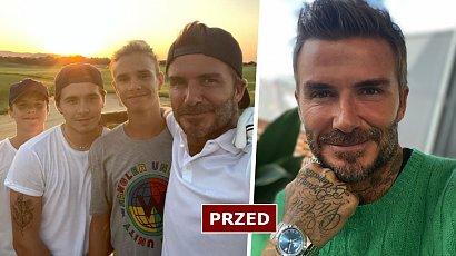 David Beckham i jego synowie mają nowe fryzury! Jest platynowy blond i... róż! Co za szalone metamorfozy!
