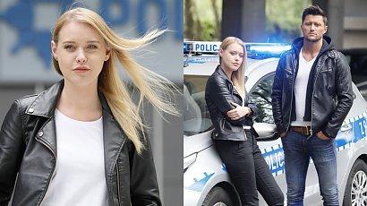 """Ewelina Ruckgaber z """"Gliniarzy"""" przedłużyła włosy! Teraz ma długie platynowe blond pasma i wygląda jak Barbie!"""