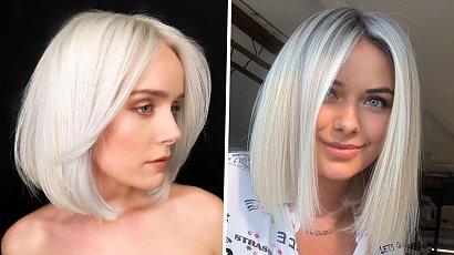 Platynowy blond - jak go uzyskać, jak pielęgnować i komu pasuje?