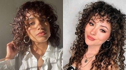 Curly fringe - coś dla posiadaczek kręconych włosów!