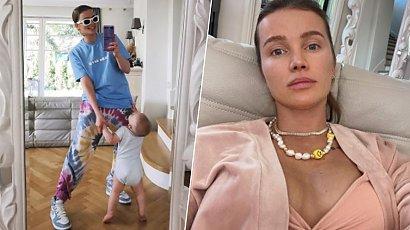 Maffashion w kostiumie dwuczęściowym wygina się na plaży. Fani znów zachwyceni jej normalnością!