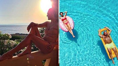 Magda Steczkowska wyjechała na wakacje z mężem. Kierunku podróży można pozazdrościć...