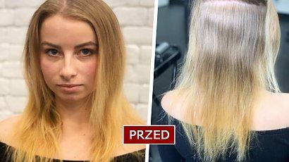 Ta fryzura to już przeszłość! Long bob i miodowy blond zupełnie odmieniły tę dziewczynę. Efekt WOW!