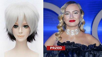 Natalia Nykiel zaszalała z fryzurą! Czarno-platynowe blond ombre w latach 2000 to był największy koszmarek farbowania włosów, a dziś?