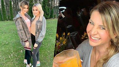Huczna osiemnastka córki Mai Rutkowski. Kaja w krótkiej sukience bawiła się z chłopakiem