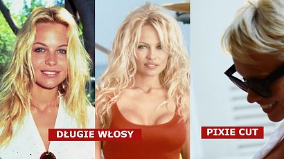 Pamela Anderson obchodzi 54 urodziny! Nie zawsze miała długie włosy i platynowy blond! Pamiętacie, że nosiła pixie cut?