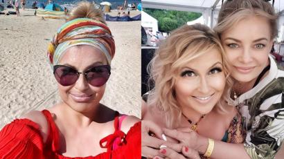 """Katarzyna Skrzynecka zbiera pochwały za fryzurę:""""Boski ten kolor i grzywka, kompletnie inna twarz"""" - piszą fani. Nie poznasz jej!"""