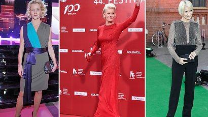 Oceniamy stylizacje Małgorzaty Kożuchowskiej z czerwonego dywanu. Zdarzały się jej wpadki!