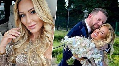 Sylwia Peretti wyszła za mąż! Trzy odważne kreacje, wesele w pałacu i niespodzianka dla męża!
