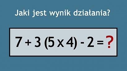 Matematyczna łamigłówka przerosła internautów! Potrafisz odgadnąć poprawną odpowiedź?