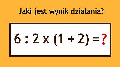 Matematyczna zagadka powaliła internautów na kolana! Niby prosta, ale nie każdy potrafi ją rozwiązać!