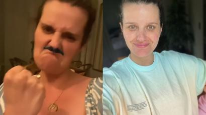 """Ciężarna Zofia Zborowska ubolewa nad swoim stanem:""""+15 kg, rozstępy, brak mózgu, cellulit nawet na piętach"""" - pisze"""