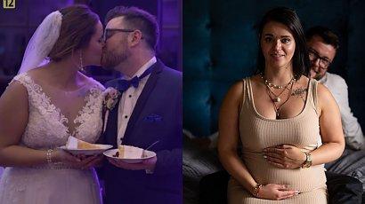 """Aga i Wojtek ze """"Ślubu od pierwszego wejrzenia"""" poznali płeć dziecka! """"Najważniejsze, by było zdrowe, bo to jest pełnia szczęścia"""""""