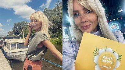Agnieszka Woźniak - Starak ostatnio kwitnie. Na nowym zdjęciu wygląda naprawdę promiennie. Wiedzieliście, że ma tatuaż na nodze?