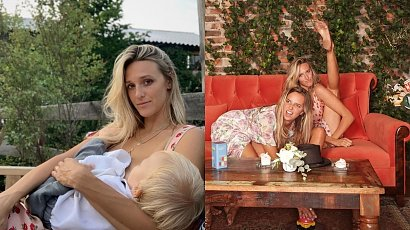 Aleksandra Żebrowska pokazała, jak wygląda opieka nad dzieckiem podczas wesela. Zaskoczeni?