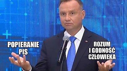 """Andrzej Duda podpisał zgodę na wycinkę Lasów Państwowych. """"Trzeba wziąść"""". Internauci tworzą memy!"""