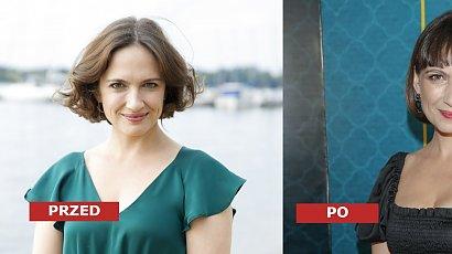Anna Cieślak w short bobie z grzywką na premierze. Jak prezentuje się 25 lat młodsza narzeczona Edwarda Miszczaka?